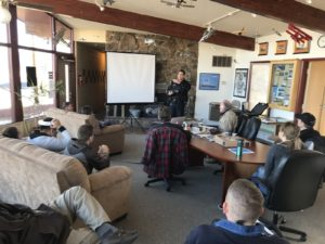 Photo of Central Colorado UAS Club meeting